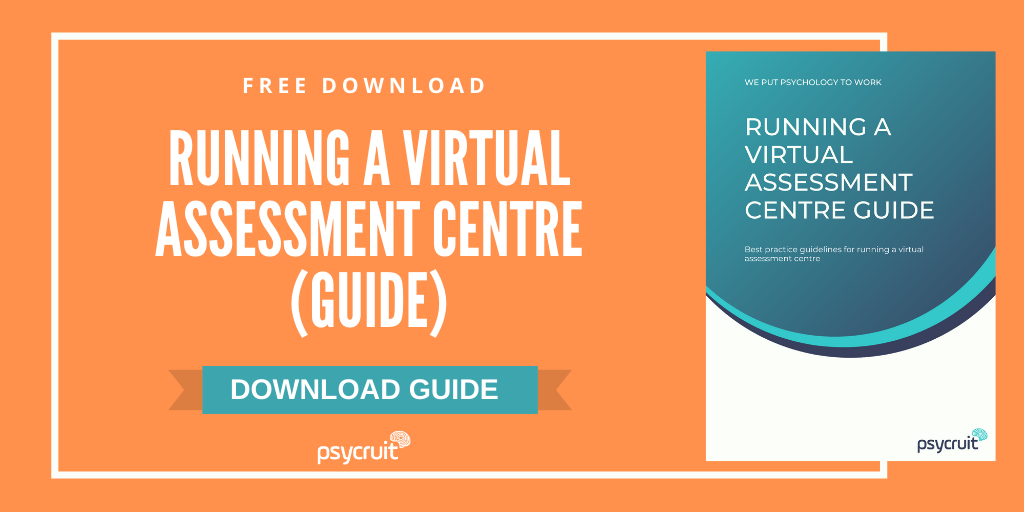 Virtual Assessment Centre - Guide - Banner